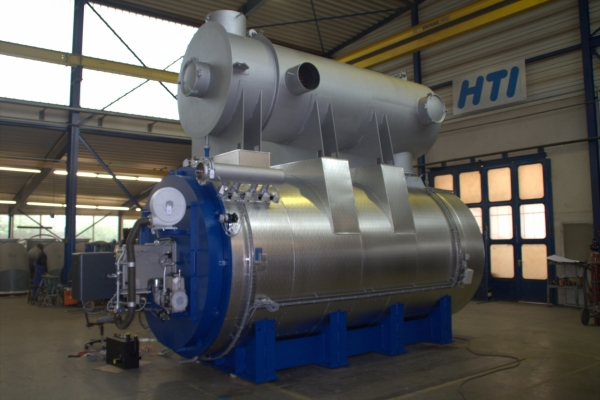 Heater skid with economiser
